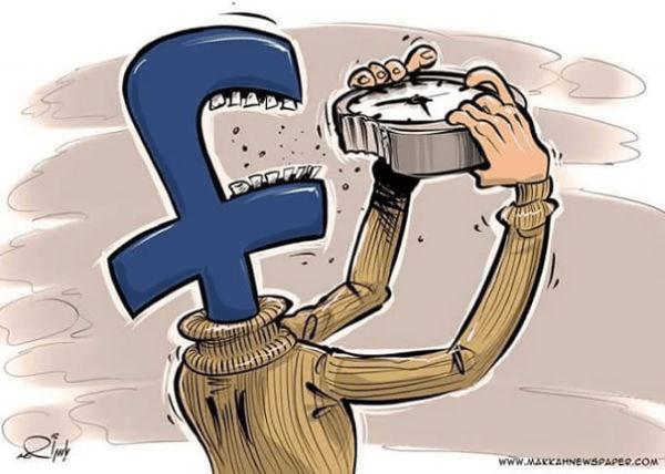 Nghiện Facebook, chύng ta đang lᾶng phί thời gian như thế...