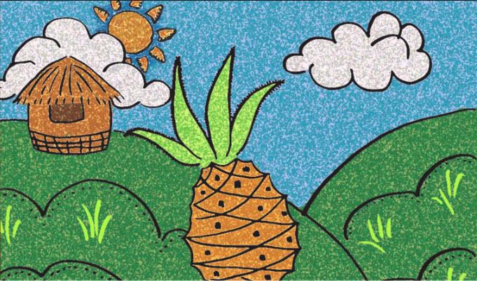 Truyện cổ tích: Sự tích trái thơm
