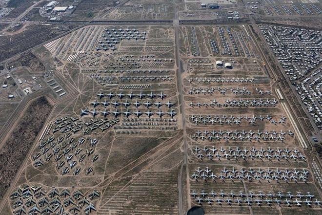 Tham quan nghῖa trang mάy bay lớn nhất thế giới nσi gần 4000 chiếc mάy bay đang yên nghỉ - Ảnh 2.