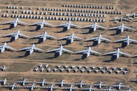 Tham quan nghĩa trang máy bay lớn nhất thế giới nơi gần 4000 chiếc máy bay đang yên nghỉ - Ảnh 1.