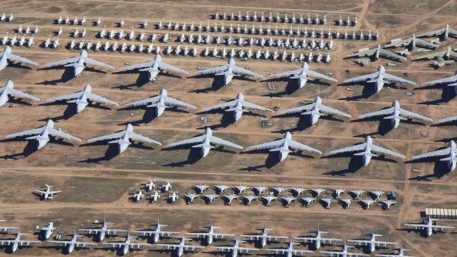 Tham quan nghῖa trang mάy bay lớn nhất thế giới nσi gần 4000 chiếc mάy bay đang yên nghỉ - Ảnh 1.