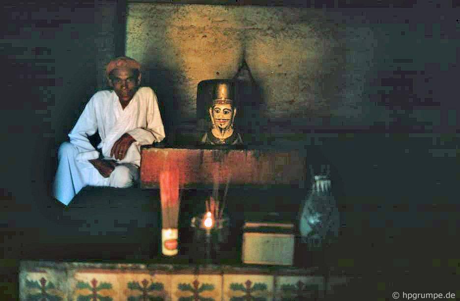 Phan Rang: Po Klaung Garai, Mukha Lingam và linh mục Chᾰm