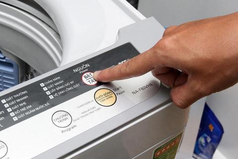 Cách sử dụng máy giặt Panasonic đơn giản, an toàn, hiệu quả