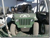 Army jeep golf cart