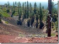 Lava Butte crater