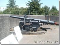 Fort Stevens gun hiding