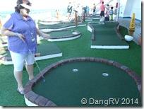 Miniature Golf With Bernie