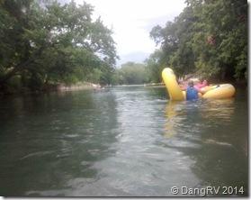 Lion's Club river tubing