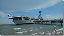 USS Lexington aircraft carrier
