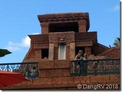 Atlantis waterpark temple slides