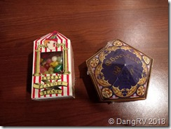 Bertie Bott's Every Flavor Beans and frog