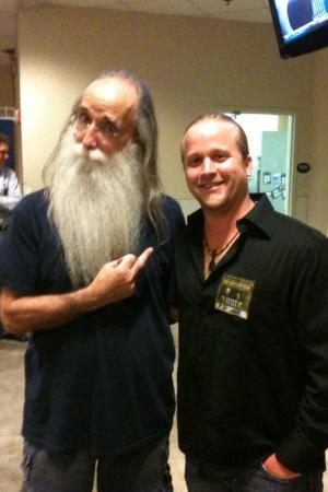 With Leland Sklar
