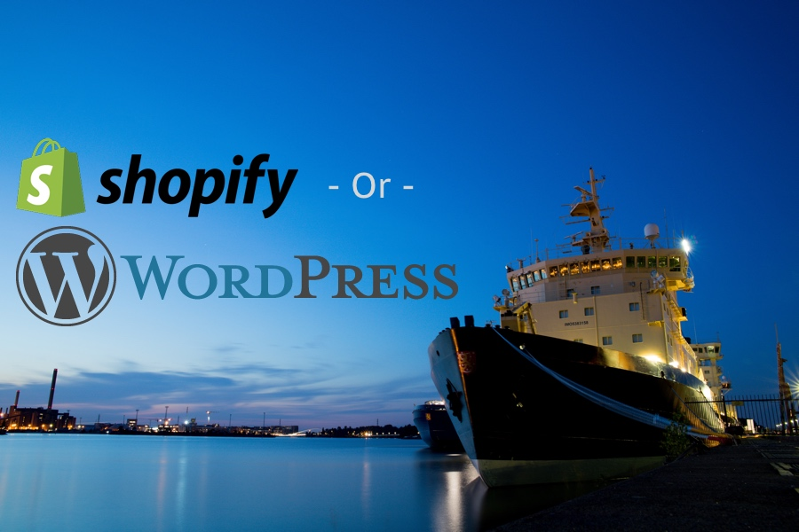 WordPress or Shopify for my Dropshipping Business?