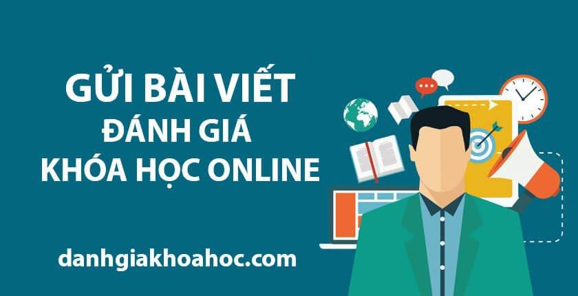 Gửi bài viết Đánh giá khóa học Online