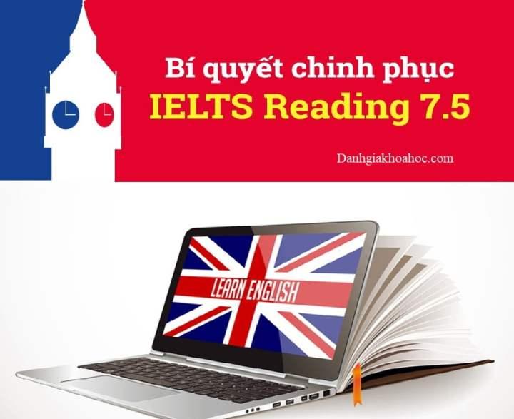 Khóa học bí quyết chinh phục IELTS Reading 7.5