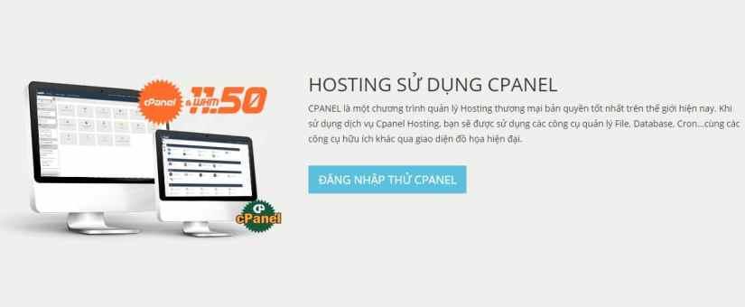 Hosting Superhost đều sử dụng cPanel