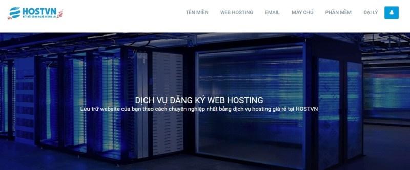 Hostvn là 1 nhà cung cấp hosting chuyên nghiệp