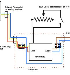sew machine motor wire diagram 3 [ 2687 x 1566 Pixel ]