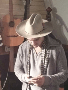 And the grand prize for biggest, baddest hat goes to the man himself, Dan Howler. This one only comes out when the banjos and mandolins are around for an all out ho-down!