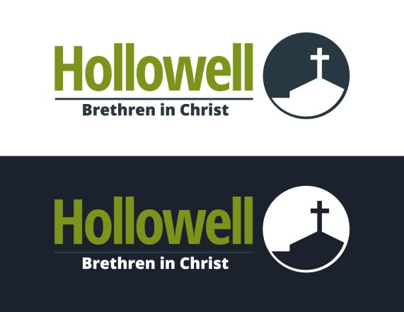 Logo design for Hollowell Brethren in Christ, as part of the team at Icon Graphics.