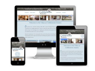 Website design and development support for Cobblestone Estates as part of the team at Icon Graphics. See it live!