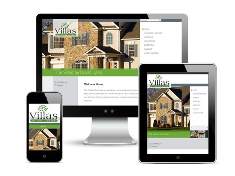 Web design and development support as part of the team at Icon Graphics for Cortland Villas, based on its parent, David Lyles Developers. See it live!