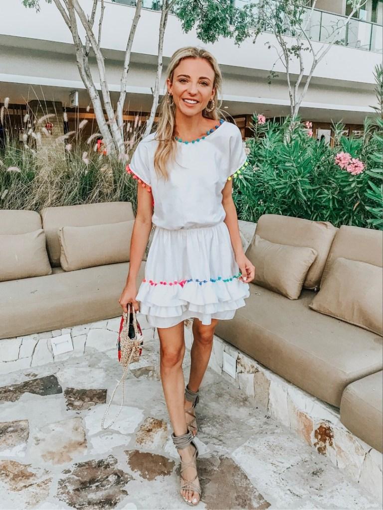 peixoto white dress