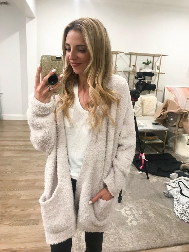 barefoot dreams cardigan sale