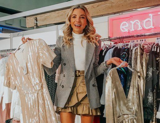 wayf blazer outfit fall 2018