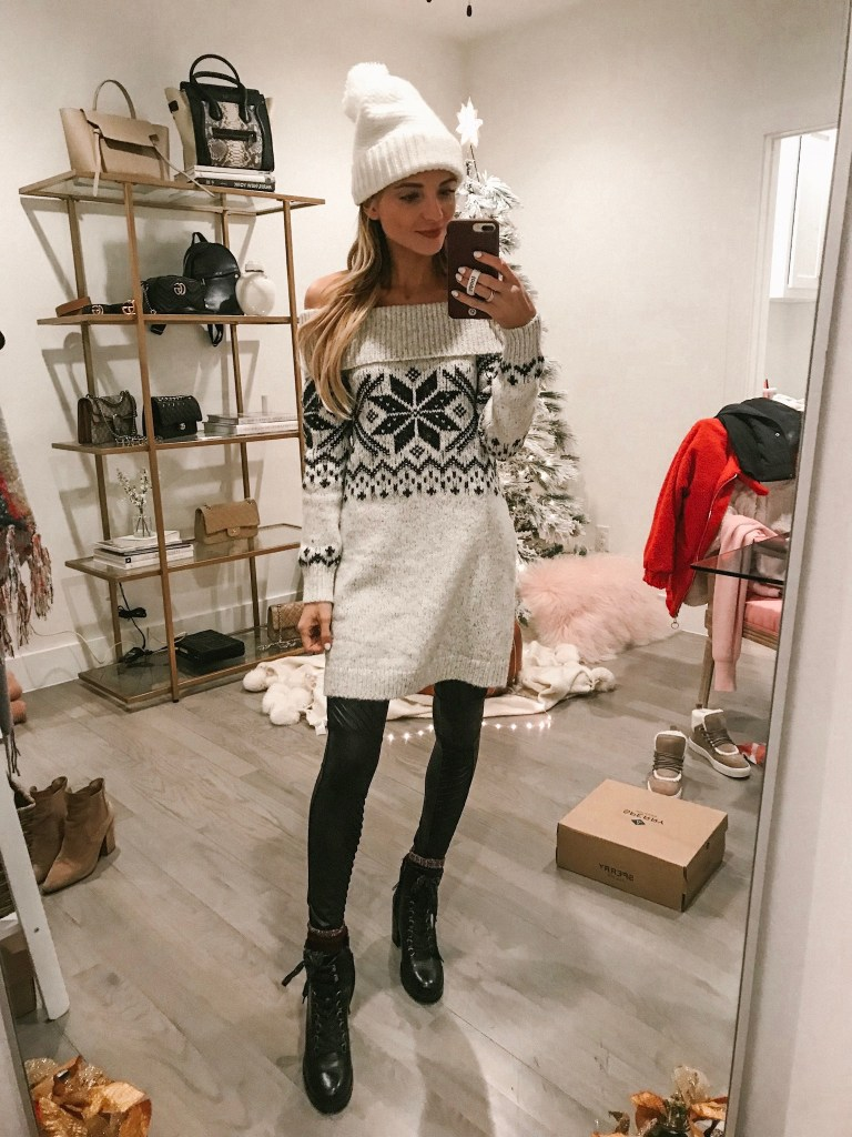 abercrombie and fitch sweater dress sale