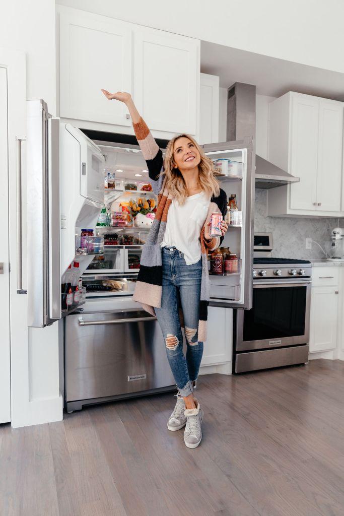 dani austin fridge organization tips