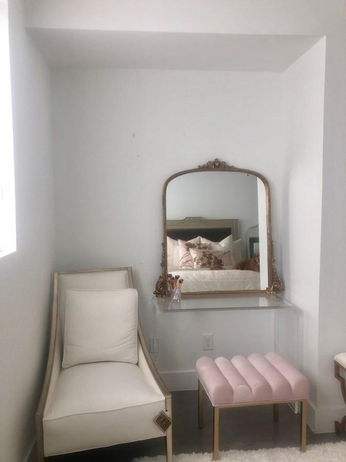 bedroom nook before transformation