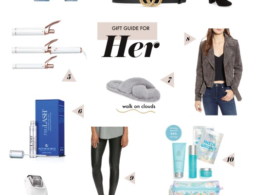 gift guide for her christmas gift ideas