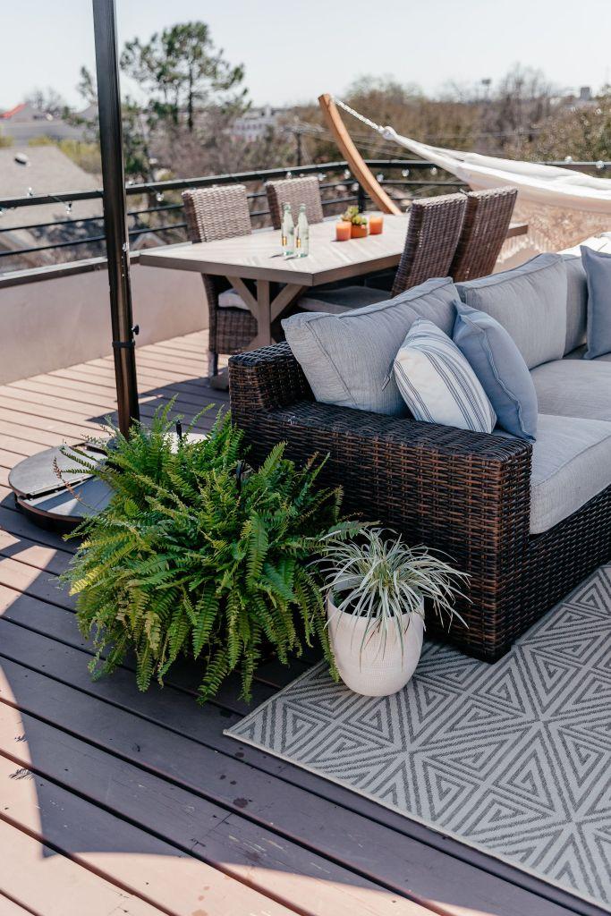 target plants patio decor