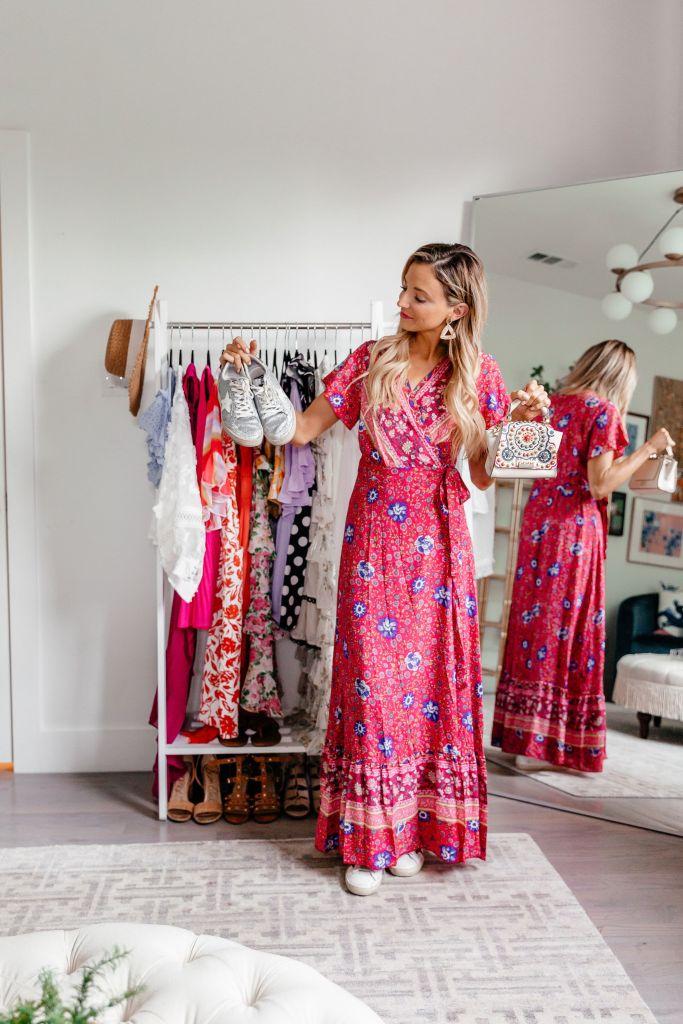 Dani Austin eBay Spring Fashion Sneakers and Handbags