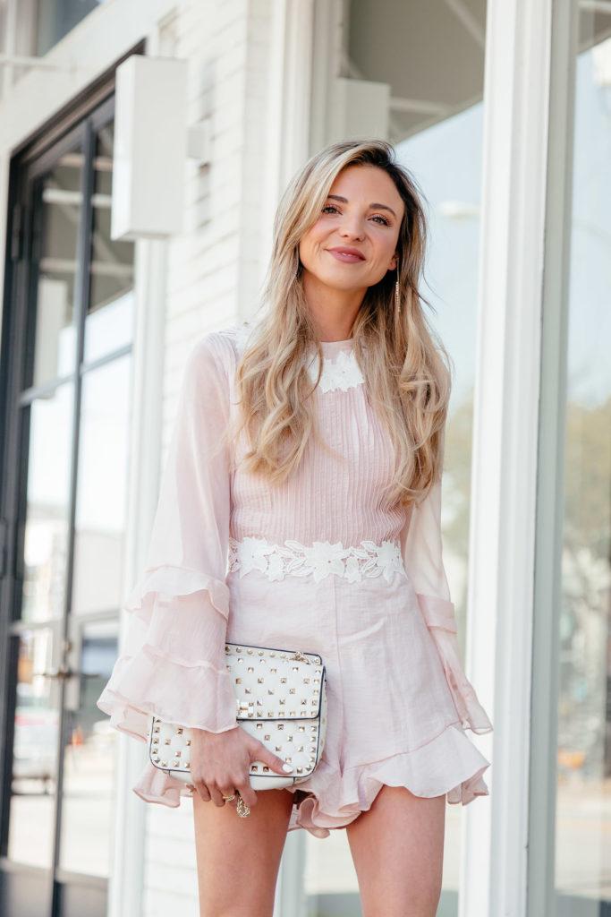 Dani Austin Keepsake the Label Pink Jumpsuit EnlightenMD Botox March
