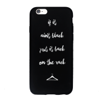 If It Aint Black Put It Back on the Rack iPhone Cover