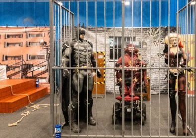 Geekmania Gloucester Daniel Baker dressed as The Flash