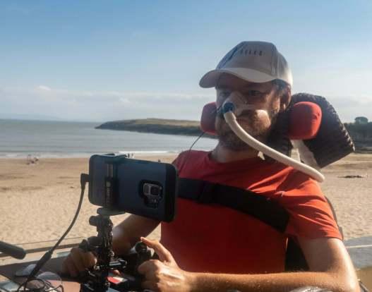 Daniel Baker at Barry Island