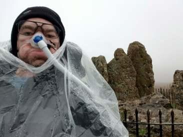 Daniel Baker at the Rollright Stones
