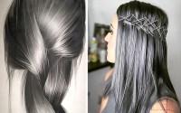 Haarfarben 2018: Charcoal, Ros, Peach - Friseur in ...
