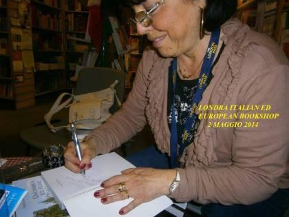 Londra. Ci sono eventi nella vita di una scrittrice che non si possono descrivere.