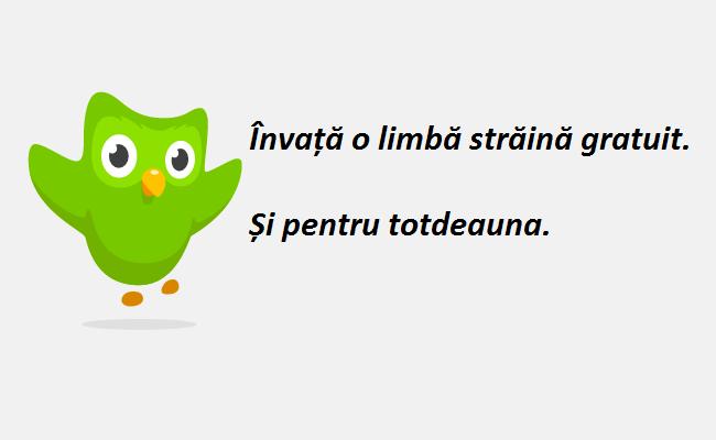 Duolingo - un site unde poți învăța o limbă străină la perfecție