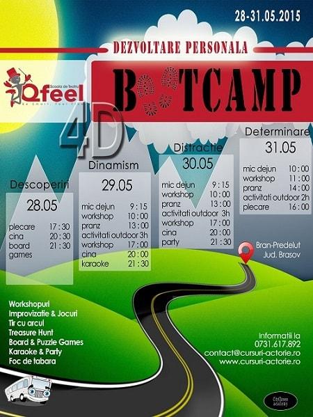 bootcamp dezvoltare personala