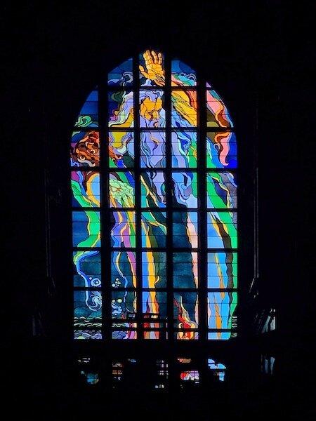 Descoperă Cracovia prin fotografie vitraliu catedrală Daniela Bojinca Blog