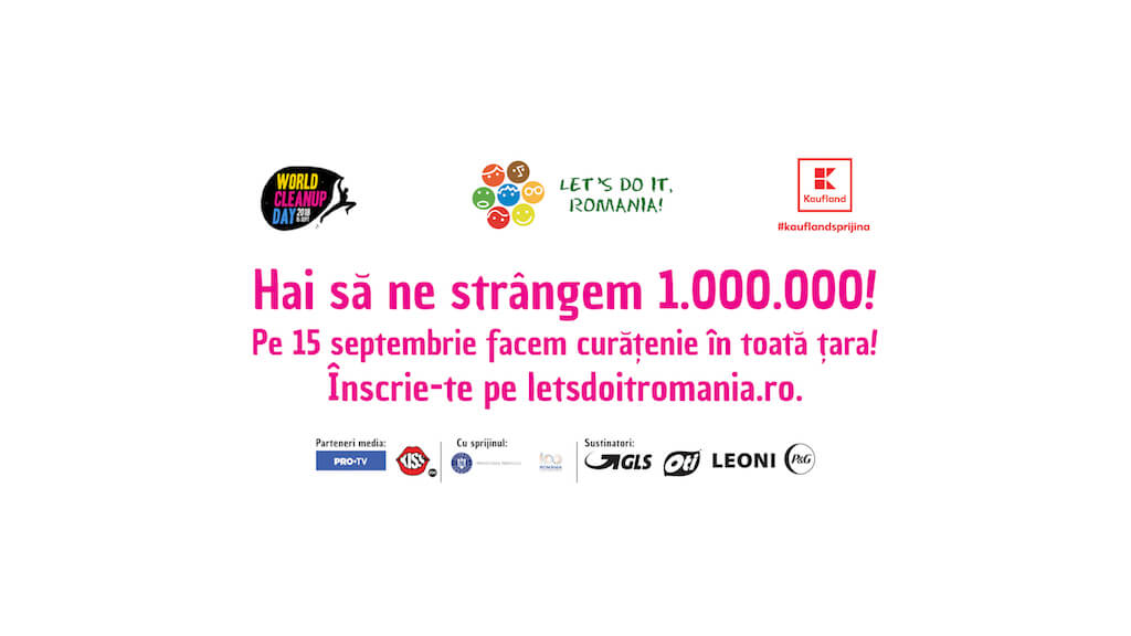 1 milion Let`s Do It, Romania daniela bojinca blog 15 septembrie 2018 world cleanup day world waste platform