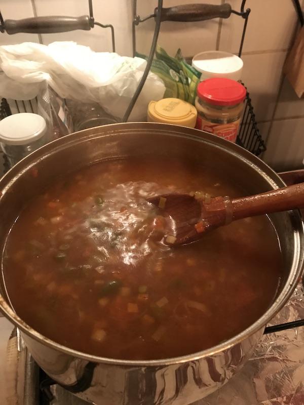 ciorba cu legume