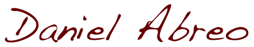 Daniel Abreo Logo