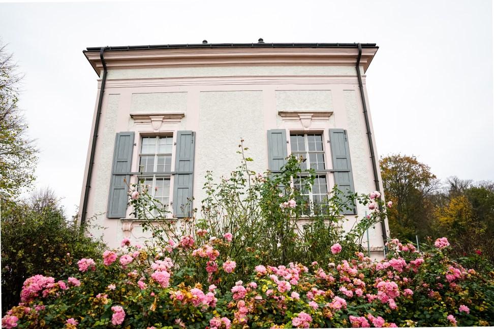 Stiftspark und Gartenpavillon Stift Melk