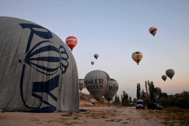 passeio de balão - capadócia - turquia